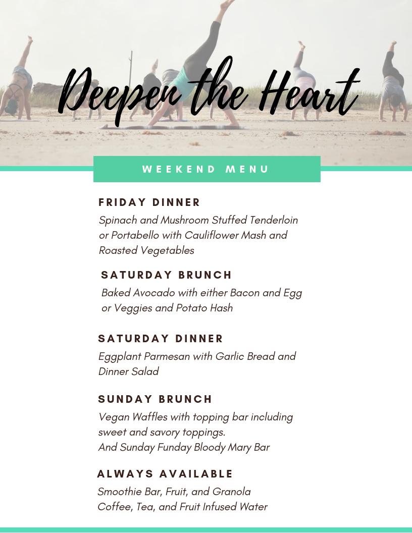 DTH menu