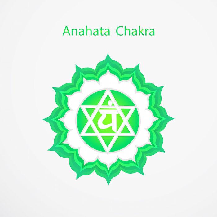 34656790 - symbol of anahata chakra vector